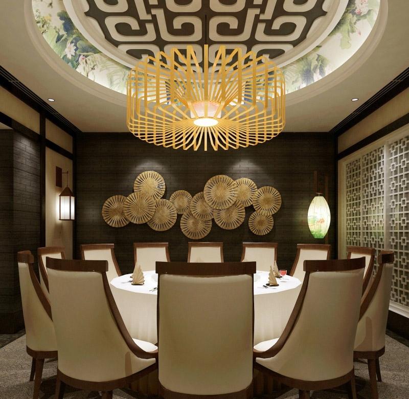 现代餐厅大全2013装修效果图图片