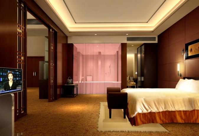 最新酒店客房效果图欣赏