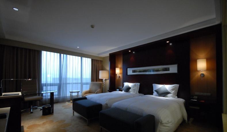 现代酒店客房装修图片
