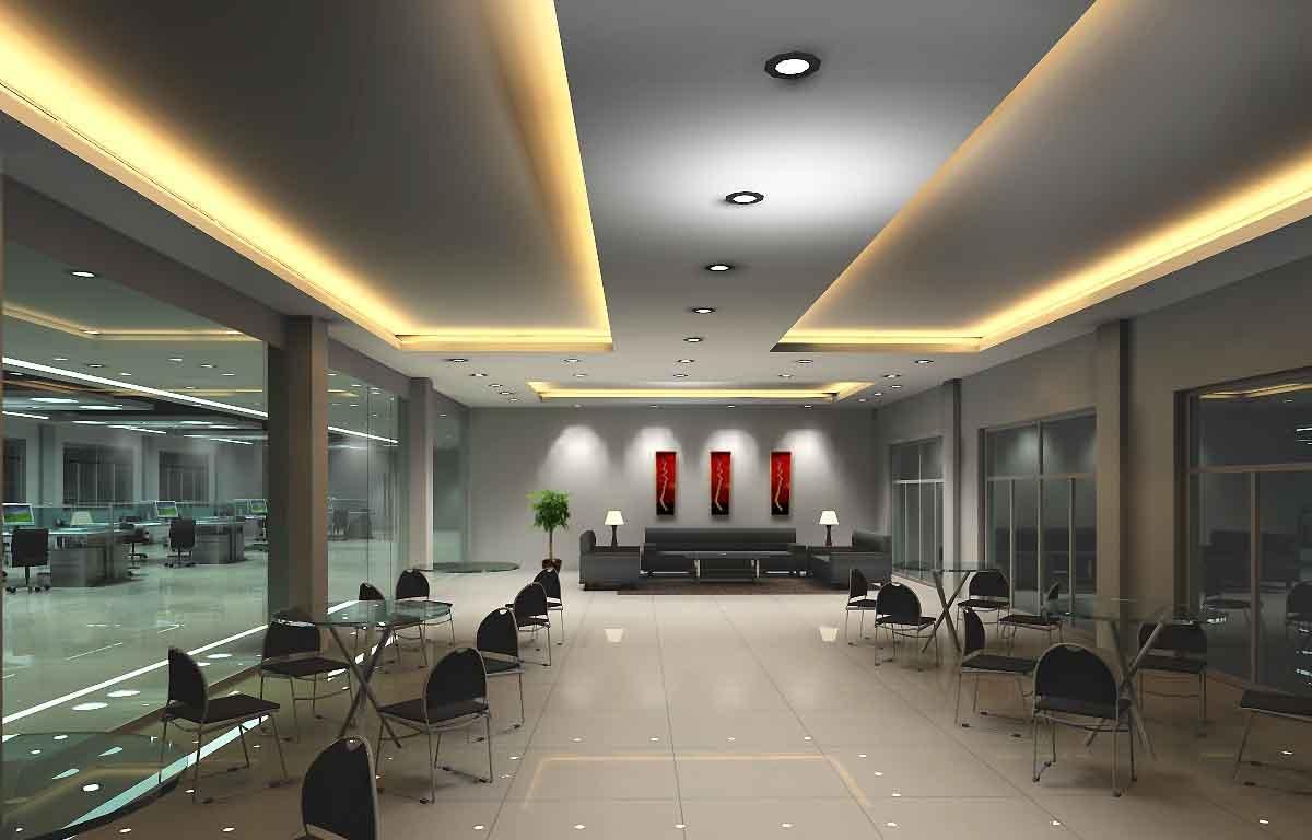 设计公司办公室装修效果图 欧式经理办公室装修效果图