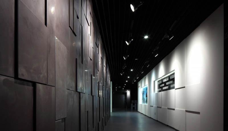 展厅装修效果图大全2013