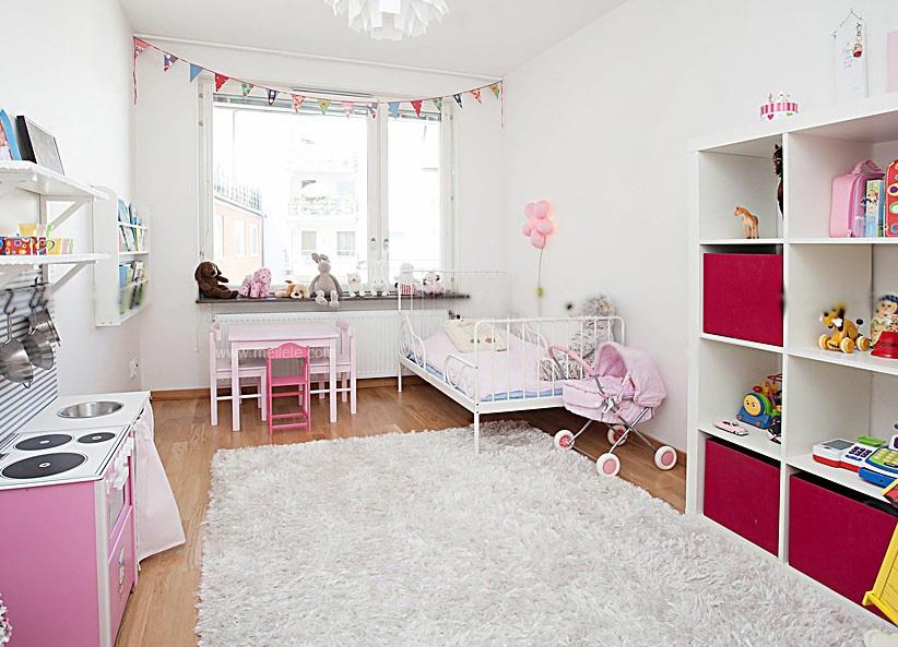 儿童房间设计装修效果图图片