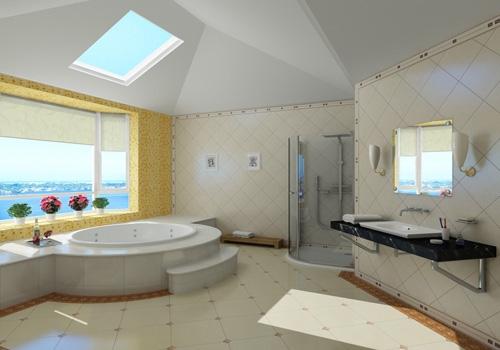 小型卫生间设计效果图