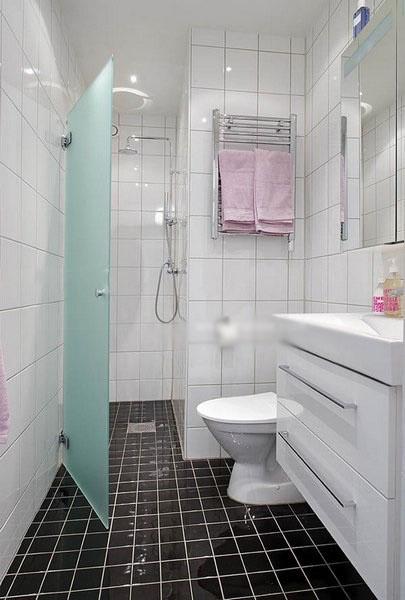 家装卫生间效果图_装修效果图-x团装修网