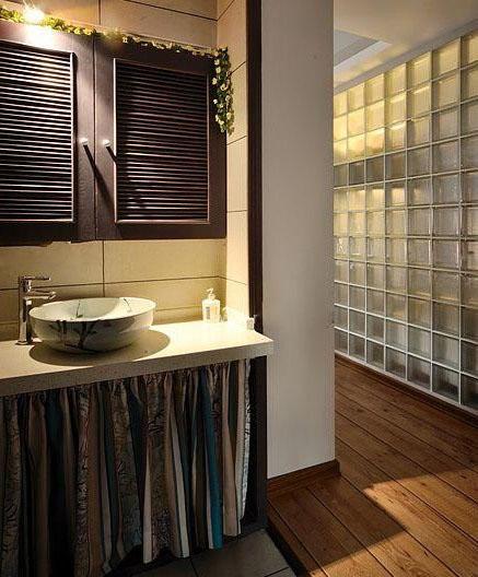 两室两厅简欧风格卫生间_卫生间设计图片