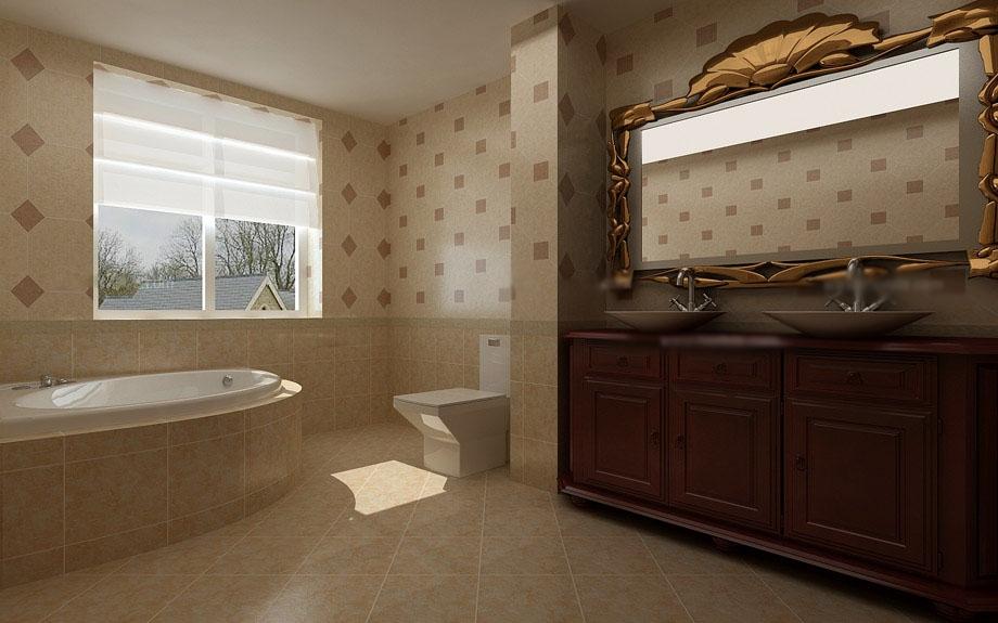 家装卫生间设计效果图