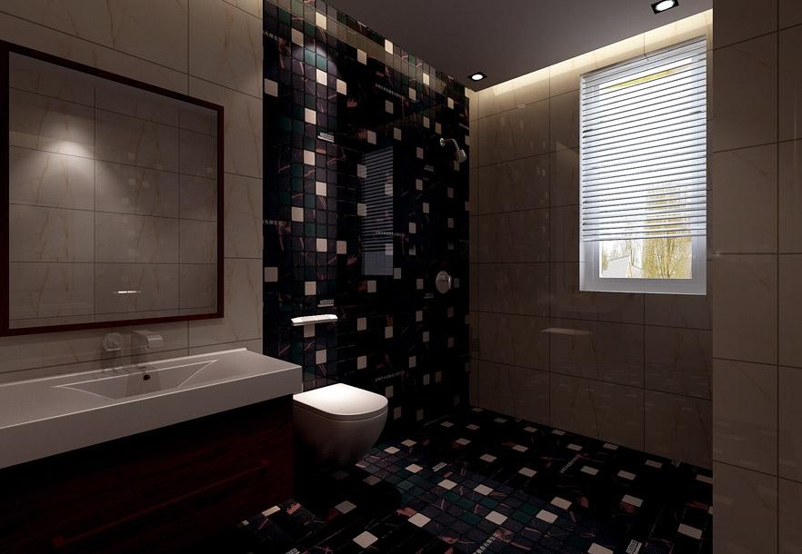 多彩的衛生間瓷磚,作為家庭的私密空間,完全可以根據自己的喜歡愛好來圖片