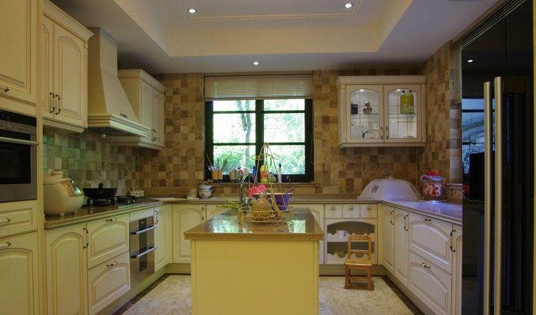 四居室北欧风格厨房厨具_欧洲大厨房设计图片