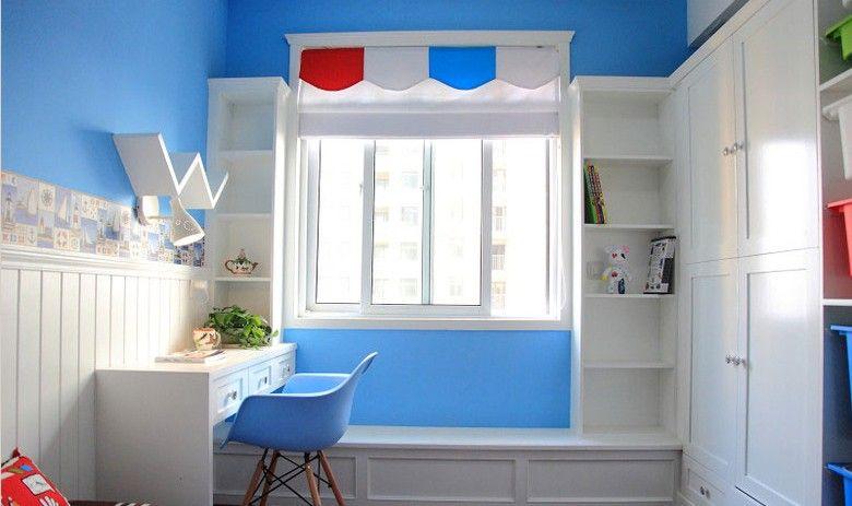 掺杂中式设计的儿童房