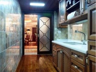 现代古典厨房设计