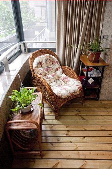 阳台的小装饰