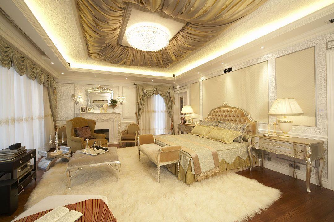 雍容华贵的古典卧房装修效果图高清图片