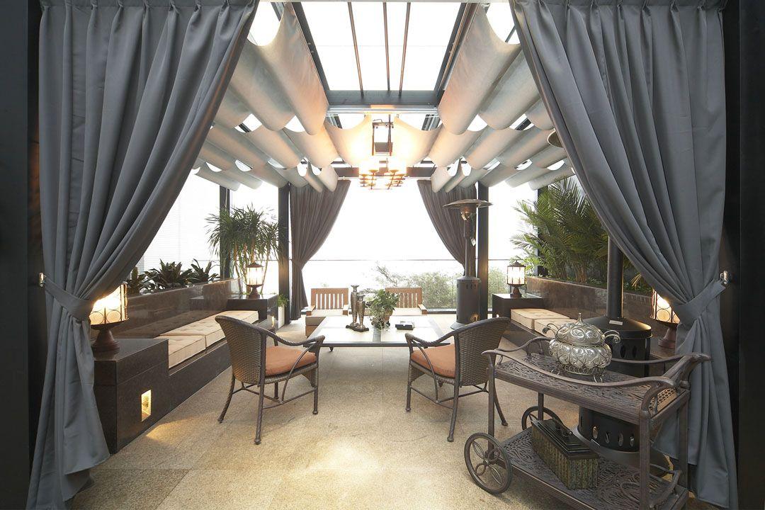 海景别墅露台设计