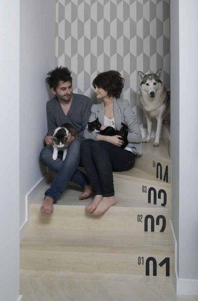 简约典雅浪漫 60平米复式公寓