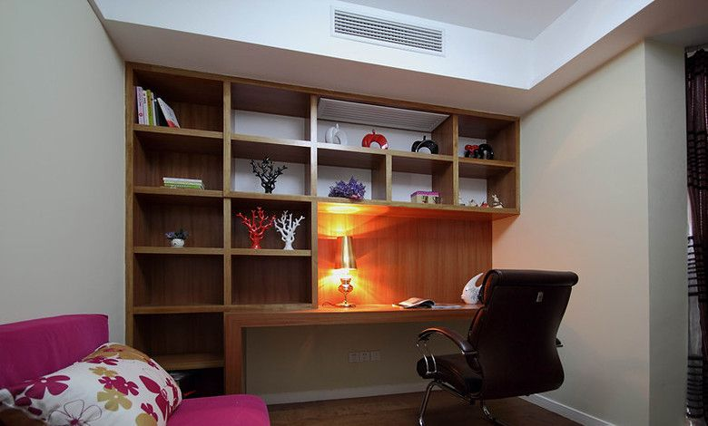 小型书房的独立设计
