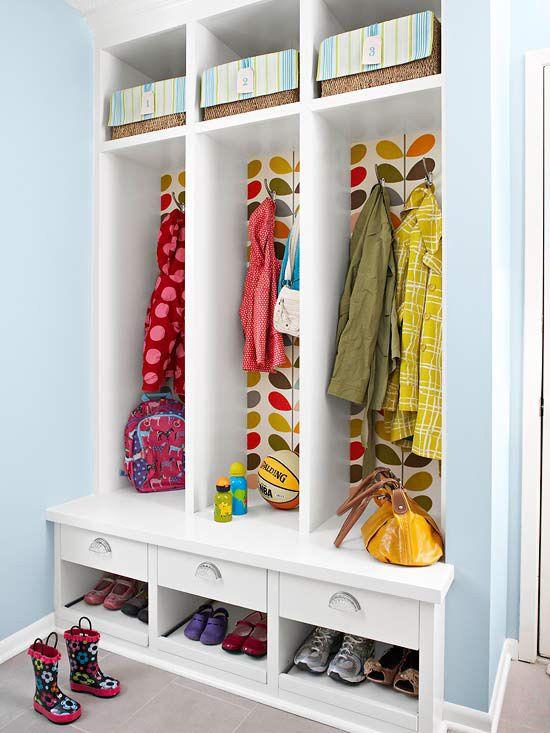 鞋柜与衣柜的组合