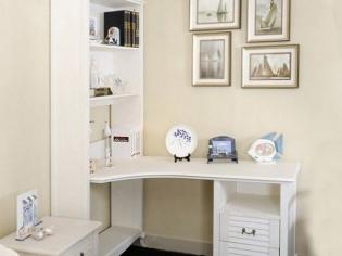 小户型书桌组合柜