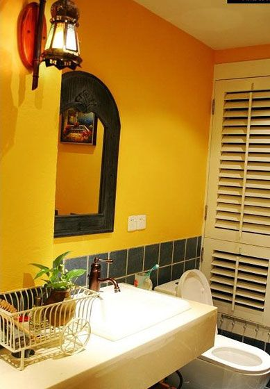 东南亚卫浴室装修效果图