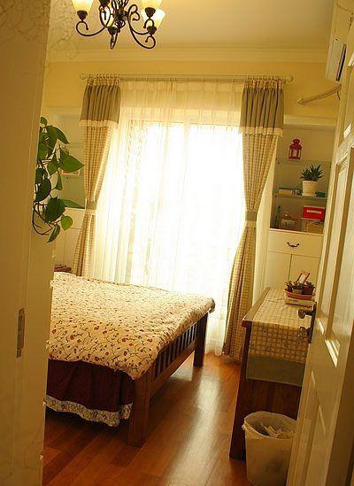 小户型田园式卧房