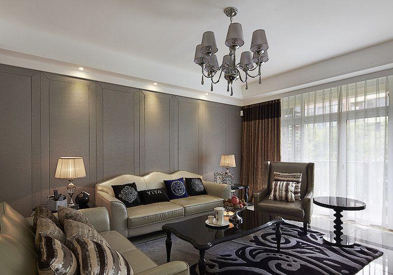 典雅大气的客厅