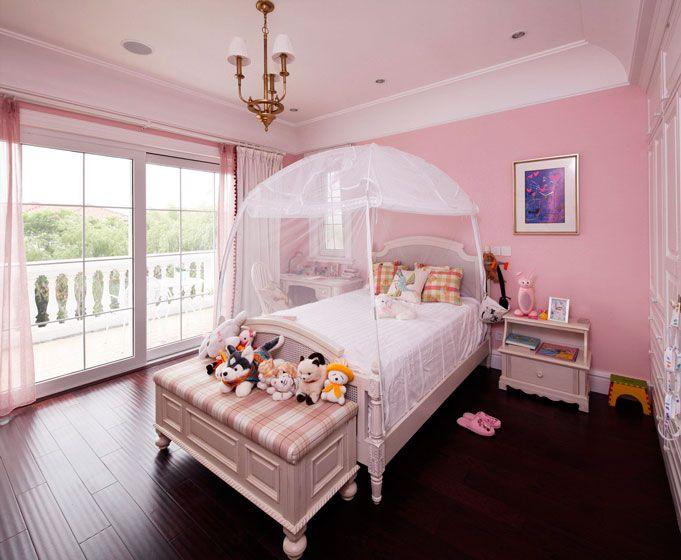 粉色公主房