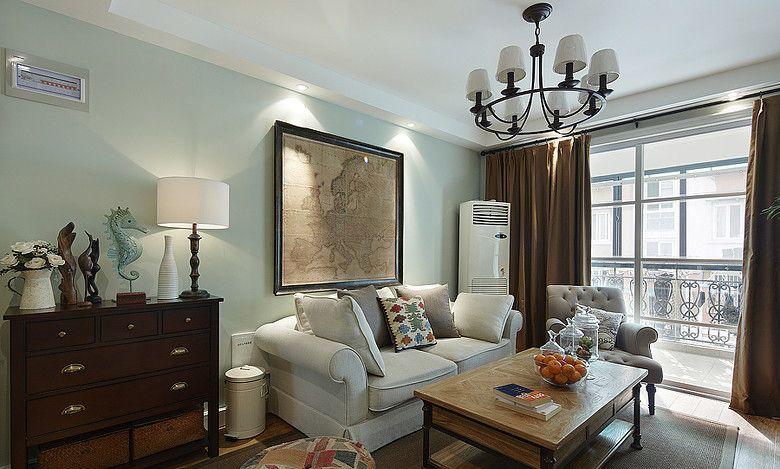 美式小客厅