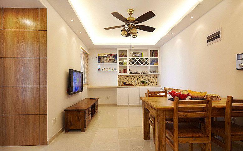 小户型的餐厅与客厅