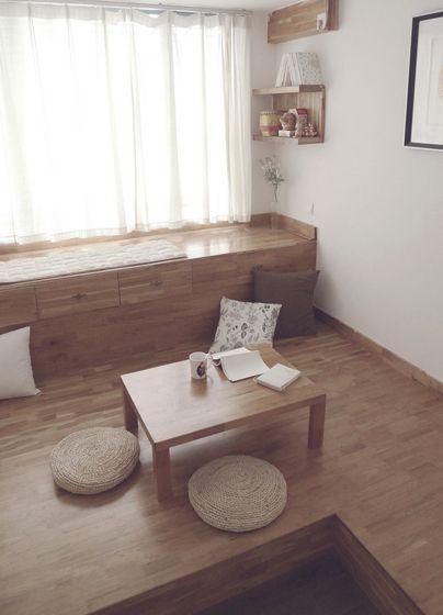 日式榻榻米休闲区