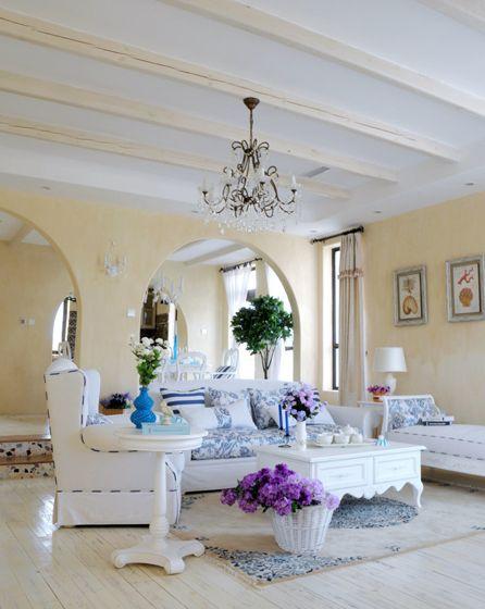 地中海浪漫客厅