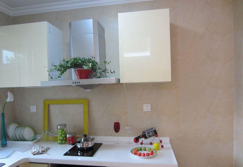 小空间的开放式厨房