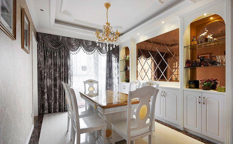 跃层欧式风格餐厅_欧式古典餐厅