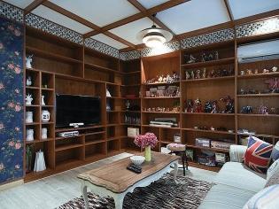 客厅图书馆设计