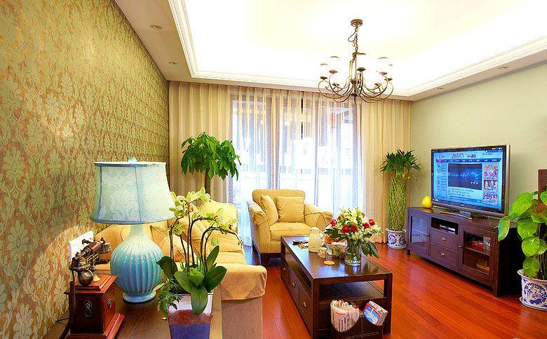 热带客厅设计