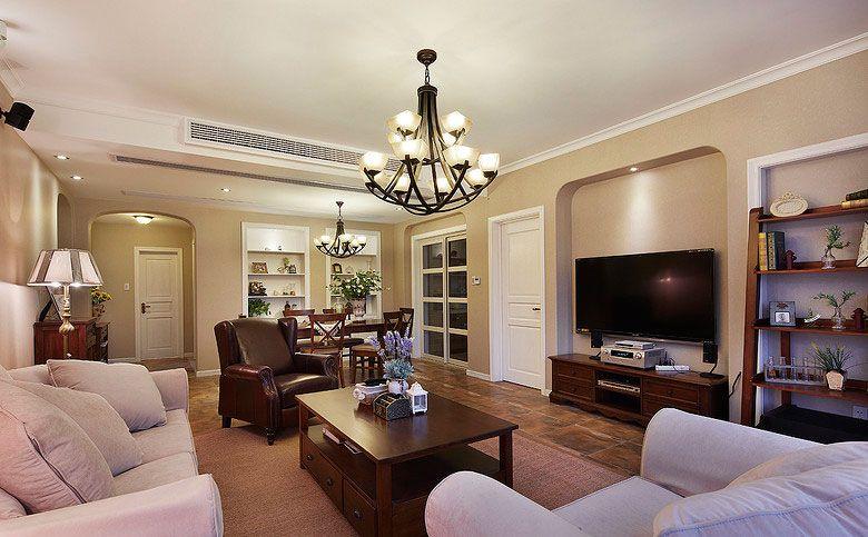 美式温馨客厅