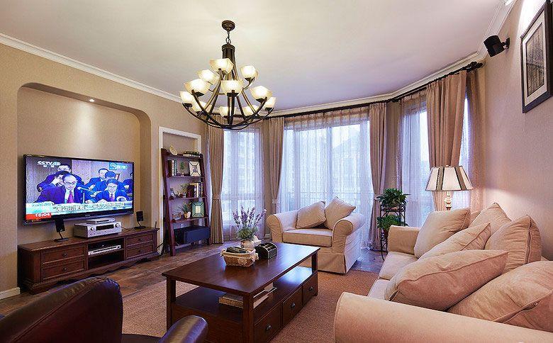 美式温馨客厅2
