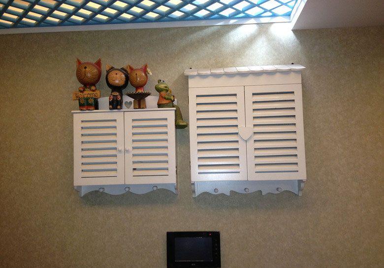 电表箱的装饰 装修效果图 X团装修网高清图片