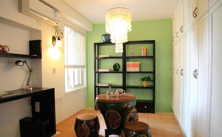 让居室变得不一样装修效果图  户型:老房 房间:书房 风格:中式风格图片