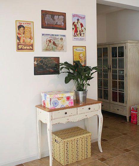 法式风格餐边柜 装修效果图高清图片