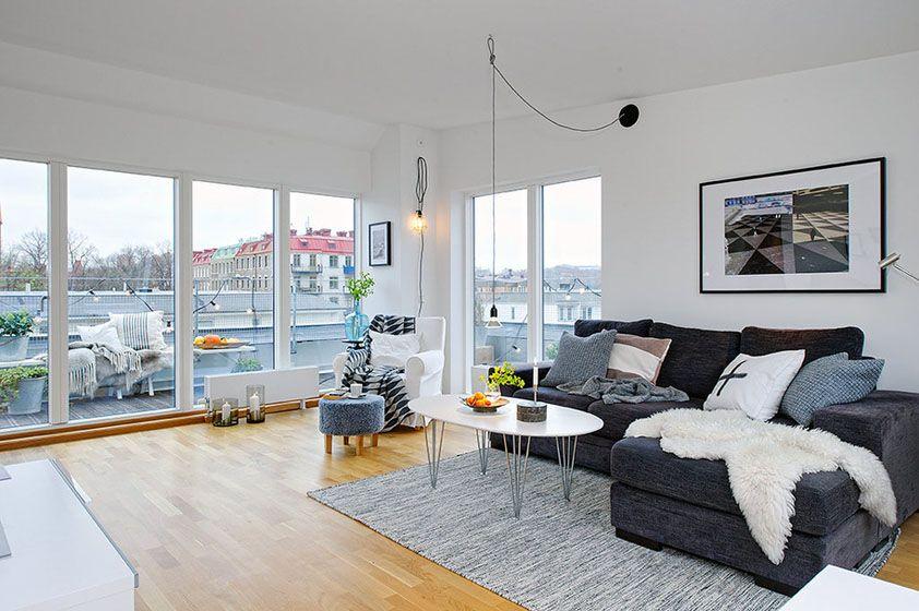 北欧简洁客厅