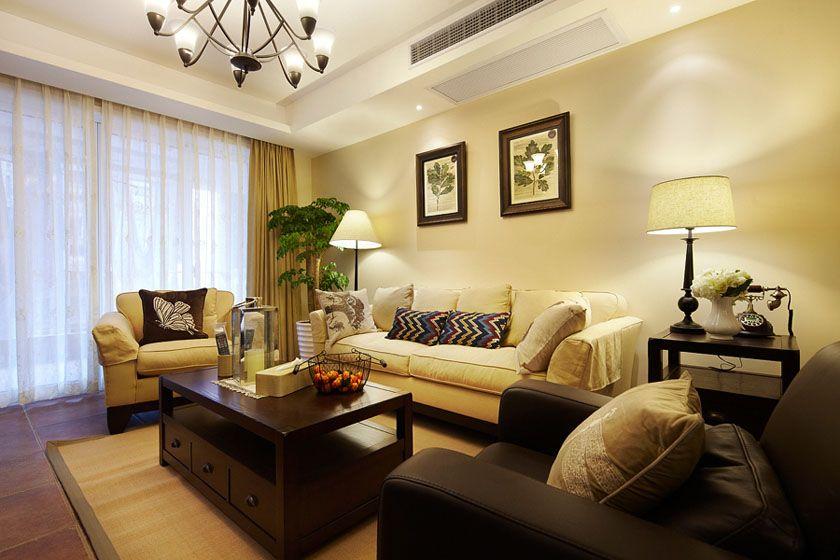 暖色系客厅