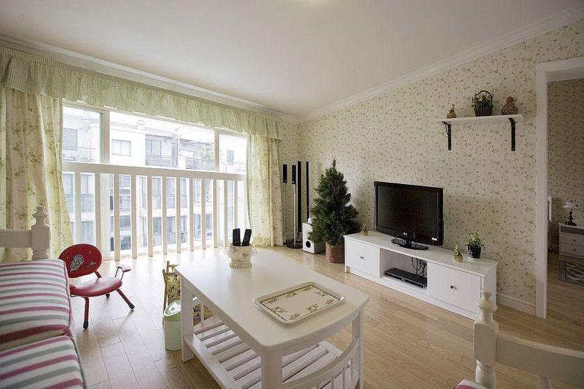 简单的清新客厅