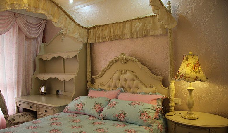 古典奢华的公主房