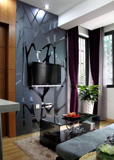创意电视背景墙