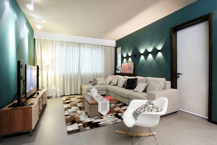 沙发背景墙壁灯