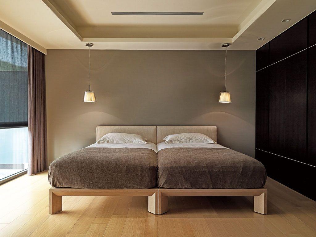 床_现代简约卧室_双拼床