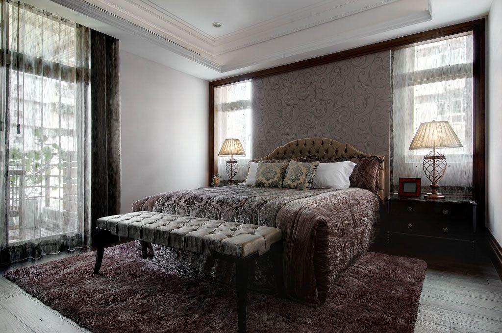 单身公寓波西米亚主卧室_主卧一角飘窗设计狭小的卧室飘窗空间刚好
