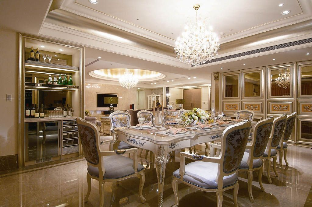古典奢华餐厅