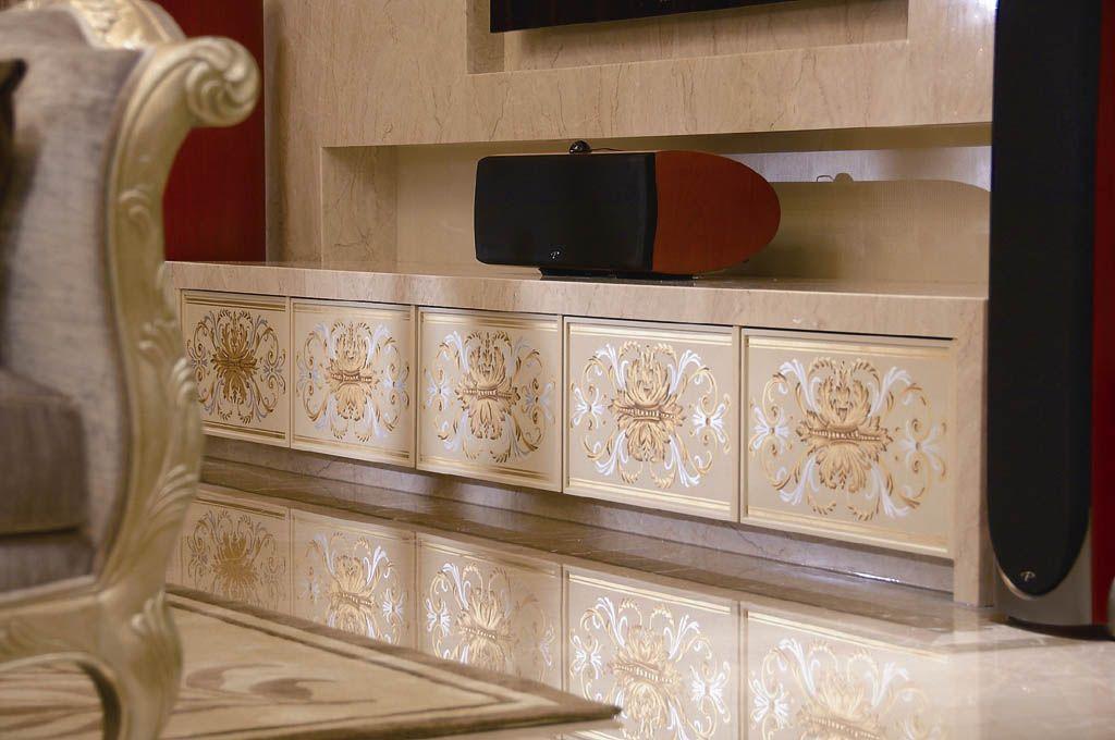 奢华古典的电视柜
