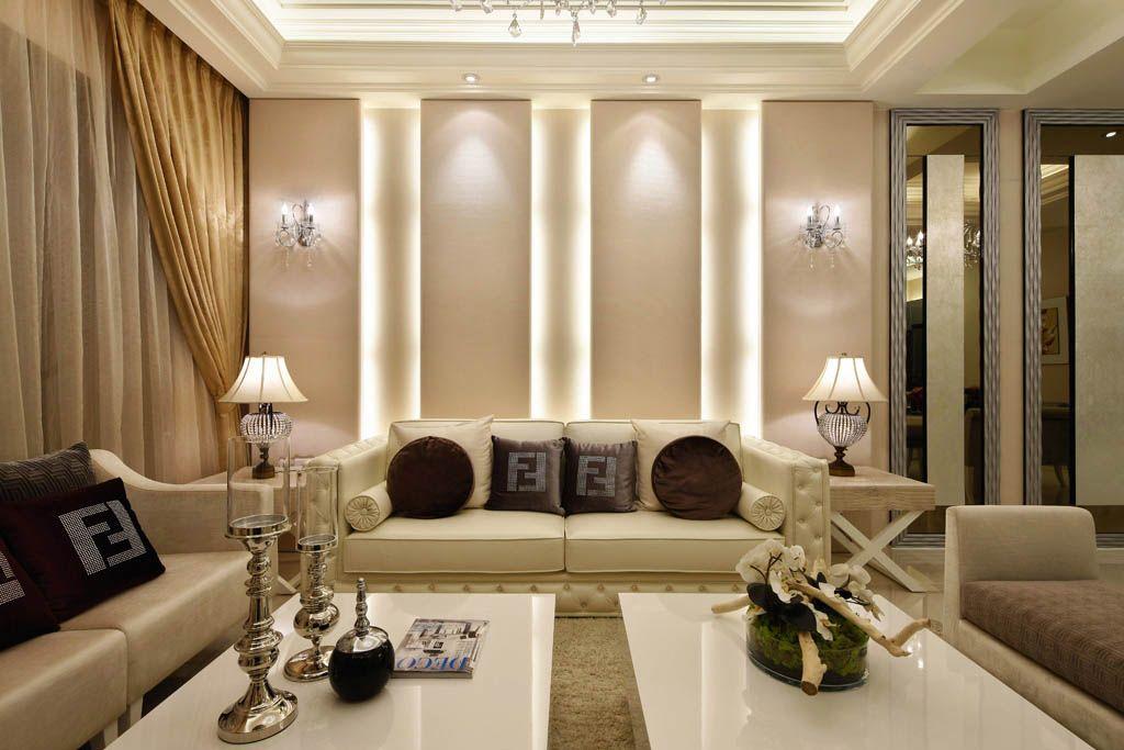 新古典沙发背景