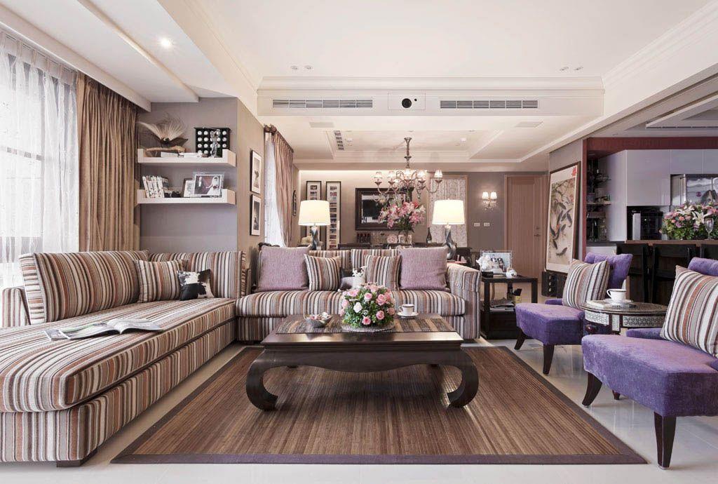 美式新古典客厅